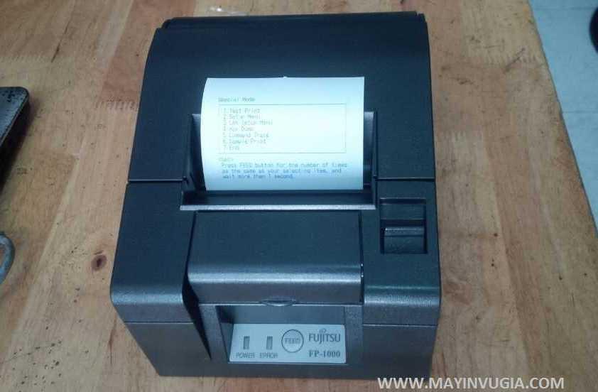 Máy in Bill Fujitsu FP-1000 cũ