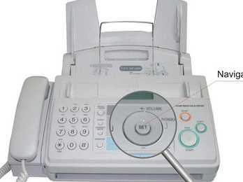 Máy fax Panasonic KX-FP 701CX