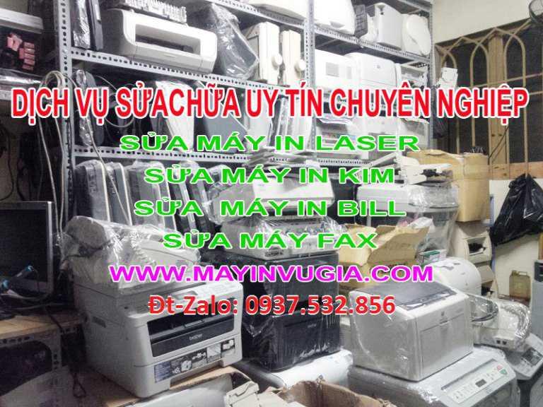 Sửa máy in máy fax chuyên nghiệp uy tín